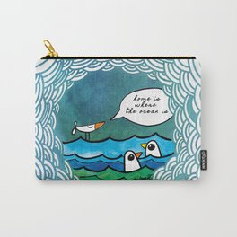 home is where the ocean is Carry-All Pouch