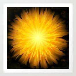 Dandelion Fire Art Print