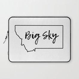 Big Sky, Montana Laptop Sleeve