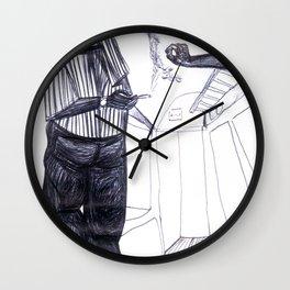 entre Padova y Milano Wall Clock