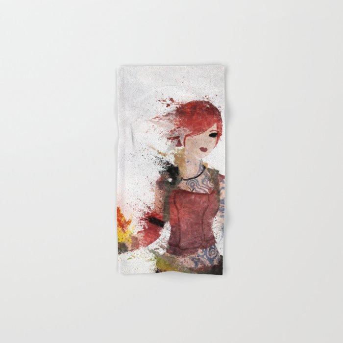 Lilith Hand & Bath Towel