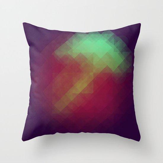 Jelly Pixel Throw Pillow