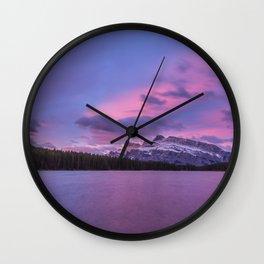 Moutnain Rundle Wall Clock