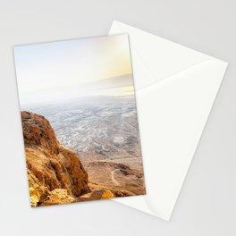 Judean Desrt sunrise Stationery Cards