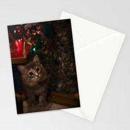 Kitten for Christmas Stationery Cards