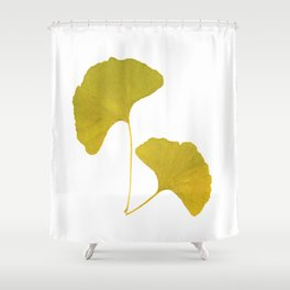 Ginkgo Leaves... Shower Curtain