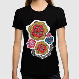 Flowers in Sand T-shirt
