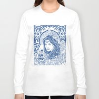 gypsy Long Sleeve T-shirts featuring Gypsy by albertsurpower