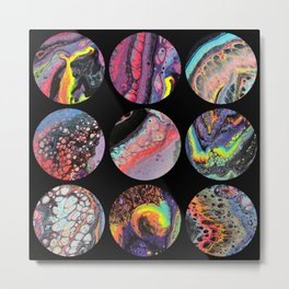 Bang Pop Lunar 7 Metal Print