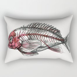 Acadian Redfish Rectangular Pillow