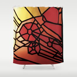STAINED Shower Curtain