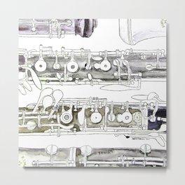 Hautbois Metal Print