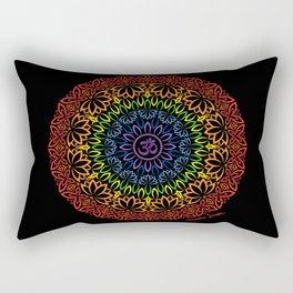 Namaste Mandala Rectangular Pillow