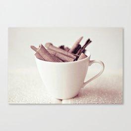 Cinnamon Cup Canvas Print