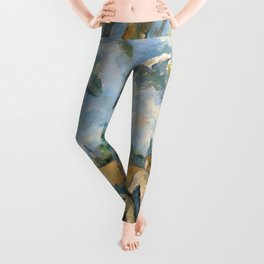 Paul Cézanne - Les Grandes Baigneuses (The Large Bathers) Leggings