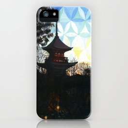 Kyoto Kaleidoscape iPhone Case