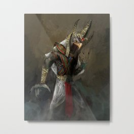 Amun-Ra Metal Print