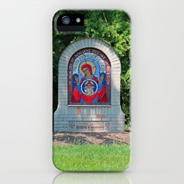Lourdes University-  Commemoration of the Unborn in the Spring -vertical iPhone Case