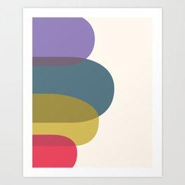 Cacho Shapes XIII Art Print