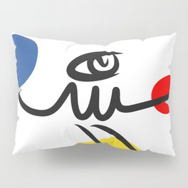 The Juggler of Life Minimal Art Design Pillow Sham