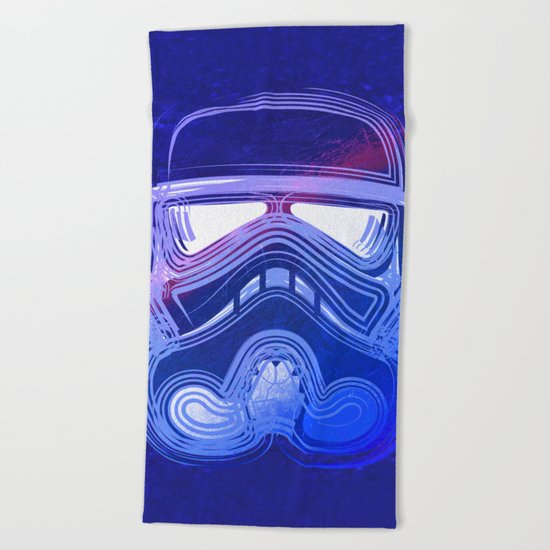 Pop Trooper Beach Towel