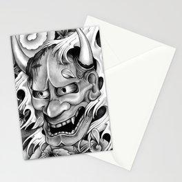 Hannya Mask Stationery Cards