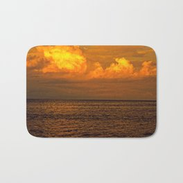 Billowy Sunset Bath Mat