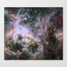 Cosmic Tarantula Nebula (infrared view) Canvas Print