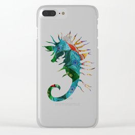 Seahorse Flow Clear iPhone Case