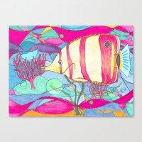 angel Canvas Prints featuring Angel by Juliana Kroscen