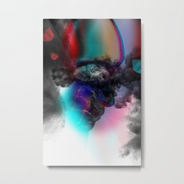 State of Mind Abstract Tech04 Metal Print