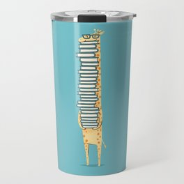 A Book Lover (blue) Travel Mug