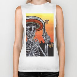 Days Of The Dead Biker Tank