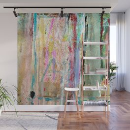 Colorful Bohemian Abstract 1 Wall Mural