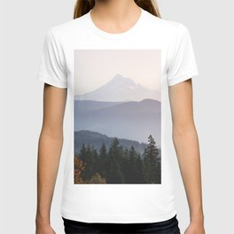 Mount Hood over the Columbia River Gorge T-shirt
