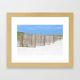 Sandy Beaches Framed Art Print