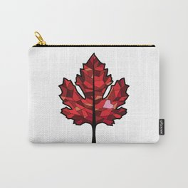 A Maple Leaf with Heart Carry-All Pouch
