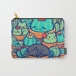 Catcus Patch Carry-All Pouch