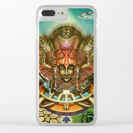 Young Sadhu's visionary pilgrimage Clear iPhone Case