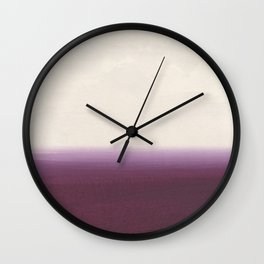 Calm - Abstract Landscape Wall Clock