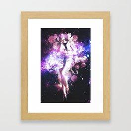 Purple Cosmo Framed Art Print