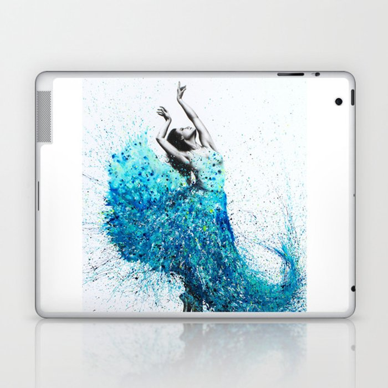 Tropical Reef Dance Laptop & iPad Skin