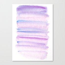 Lilac watercolor fantasy Canvas Print