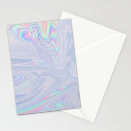 Oil Slick Drip Stationery Cards