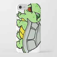 childish gambino iPhone & iPod Cases featuring childish turtle  by Martin