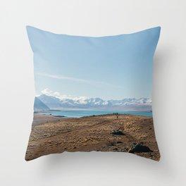 Lake Tekapo III Throw Pillow