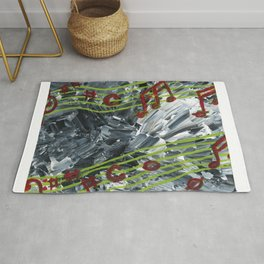 Music Notes Rug