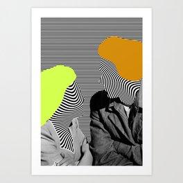 Same Wavelength Art Print