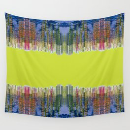 Fragmented Worlds I Wall Tapestry