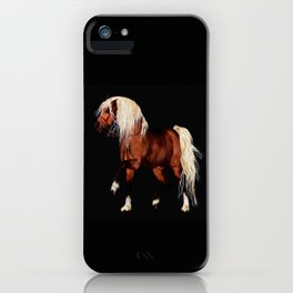 HORSE - Black Forest iPhone Case